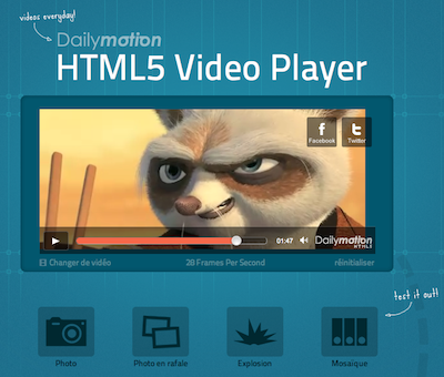 Dailymotion HTML5 demo